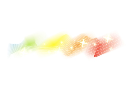 Rainbow water color with bokeh background  Stock Photo - 20242884