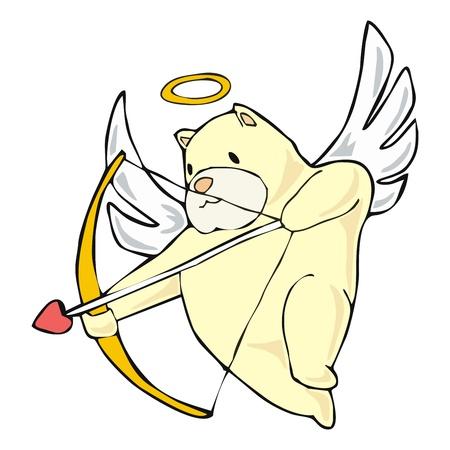 quiddity: Cupid teddy bear shoot his arrow