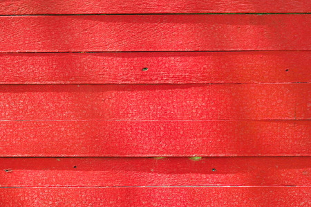 spontaneous painting: red wooden wall texture background