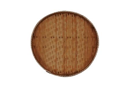 basket tray isolated Stock Photo