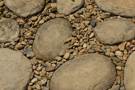 emphatic: random stone pattern texture background Stock Photo