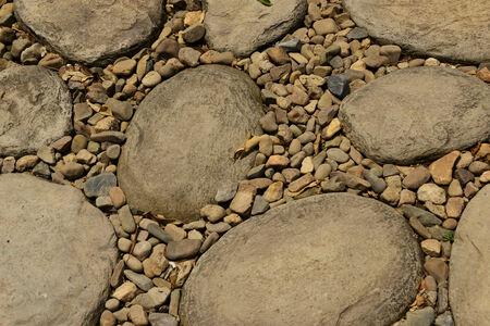 manful: random stone pattern texture background Stock Photo