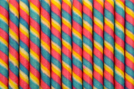 screen partition: colorful wafer roll stick pattern background Stock Photo
