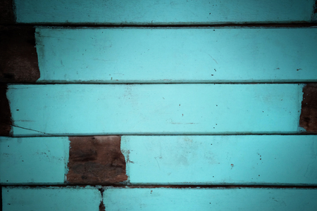 context: Blue tone decorative rough wooden wall texture background. have some space for write wording