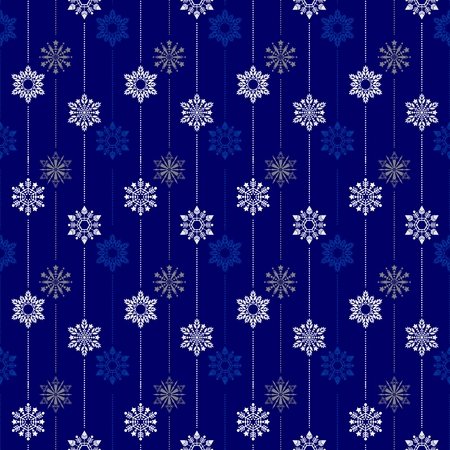 frozen crystal Snowflake basic vertical line seamless pattern texture background vector in white and blue and silver gray tone