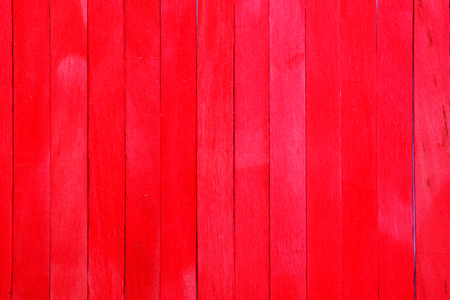Oblique rough red wooden partition wall texture background. Have some space for write wording Reklamní fotografie