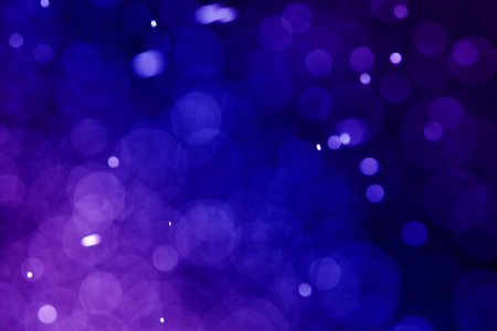 blue bokeh abstract light with dark background Stock fotó