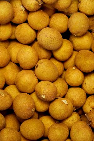 longan fruit group texture background