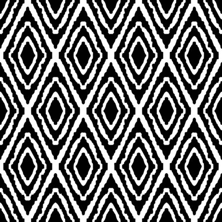 motif illustration design eye square woven fabric tribal seamless pattern vector with white background