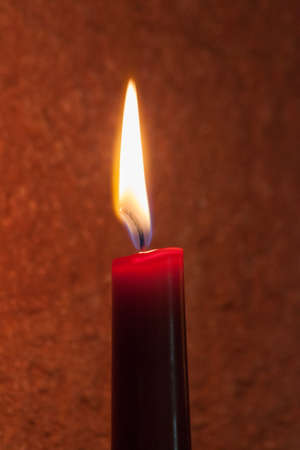 flickering: Candlelight Stock Photo
