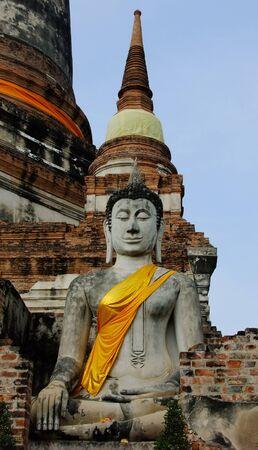 chaimongkol: Wat Yai Chaimongkol in Ayutthaya, Thailand