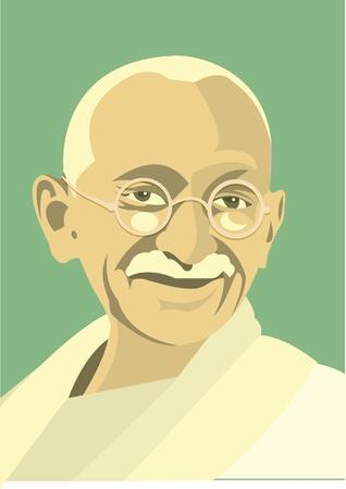 illustrator: Mahatma Gandhi