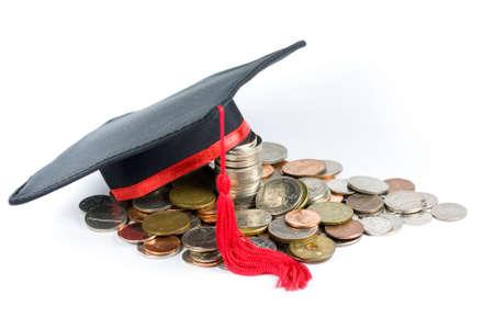 chapeau de graduation: Fonds d'�ducation - Cap Graduation & Coins