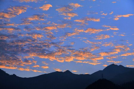 nimbi: Clouds in the sky for background Stock Photo