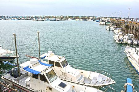 wharf: Fishermans Wharf in Nanliao, Hsinchu city, Taiwan