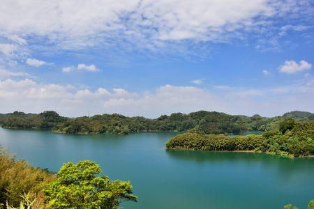 Baoshan reservoir lake