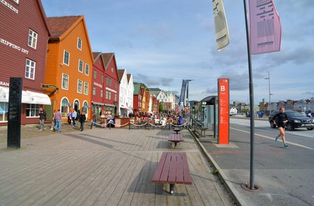 Old town of Bergen, Norway.Norway.Travel to Norway, photoshutter to Old town of Bergen.Photo taken on: June 9,2015