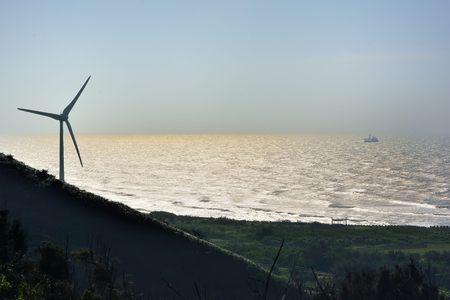Generation power wind in Miaoli,Taiwan