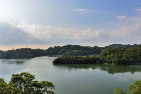 Beauty of the reservoir,Hsinchu,Taiwan