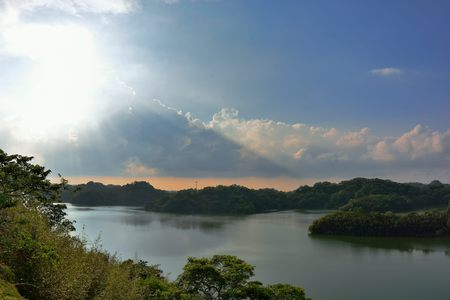 Beauty of the reservoir,Hsinchu,Taiwan
