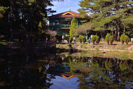 Tianchi(heaven lake) belongs to the Fushoushan Farm in Taiwan. Primitive, natural. Editorial