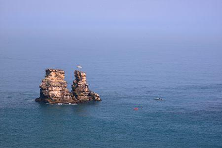 Mysterious Coast of Jinshan, New Taipei City, Taiwan.
