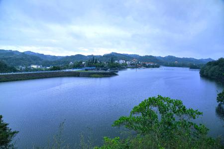 Mingde Reservoir in Miaoli - Taiwan
