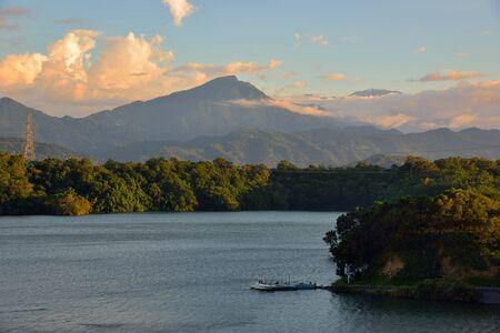 The beauty of Bao-Shan No-2 Reservoir, Hsinchu-Taiwan