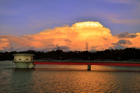 The beauty of Bao-Shan No-2 Reservoir, Hsinchu-Taiwan