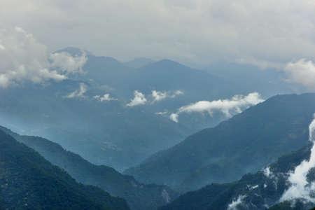 Mountain landscape-Mountain View Resort in the Hsinchu,Taiwan.