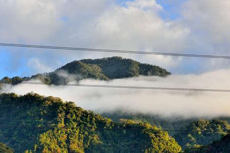 Mountain landscape in the Hsinchu,Taiwan.