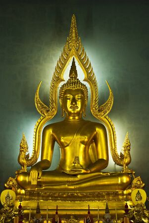one image of holy thing beautiful Buddha in the tourist attraction of Thailand Stock Photo