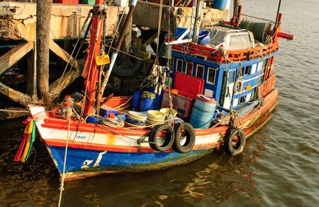 the fishing boat is native of Thai