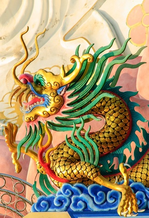 the dragon is symbol of the holy thing and art work of the Chinese
