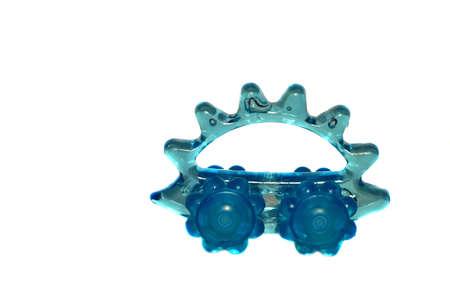 massager: Roller Massager - blue hedgehog