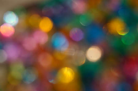 Abstract background - bright lights bokeh photo