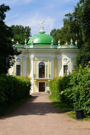 kuskovo: Building  Hermitage   farmstead Kuskovo near Moscow  Stock Photo