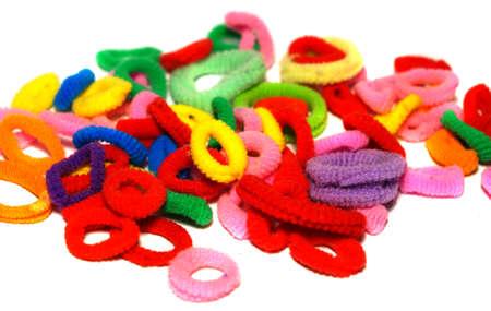scrunchy: Colorful scrunchy