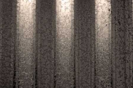 stainless steel sheet: Texture of corrugated stainless steel sheet tinted sepia