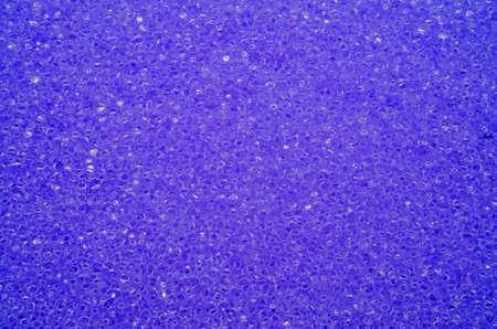 porous: Porous texture of sponge purple                                Stock Photo