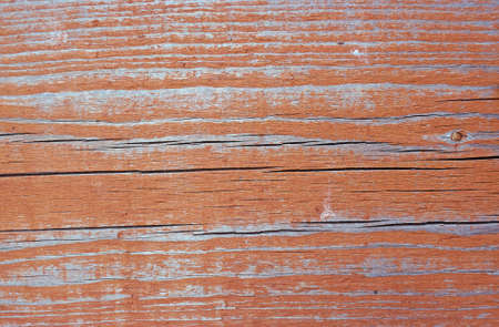 flaky: Texture of wall of rusty-red color boards with flaky paint                                Stock Photo