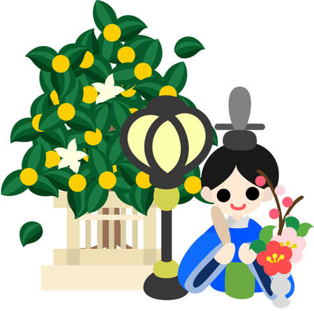 pray for: Japanese celebrate the Girls  Festival on March 3  It s the day to pray for healthy growth and happiness for young girls  This is the doll of the Emperor