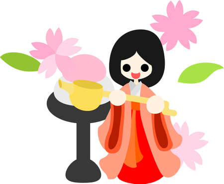 pray for: Japanese celebrate the Girls  Festival on March 3  It s the day to pray for healthy growth and happiness for young girls  This is the doll of court lady