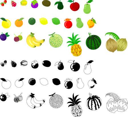Vaus 果物のアイコン