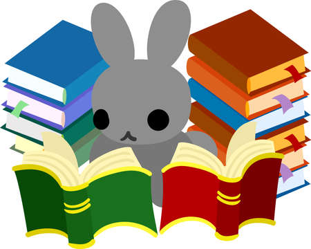 scholar: The rabbit which does the figure of the scholar
