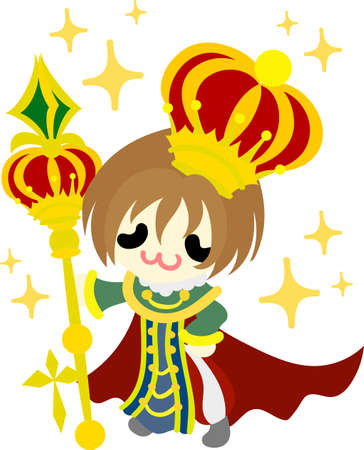 Illustration of the small King