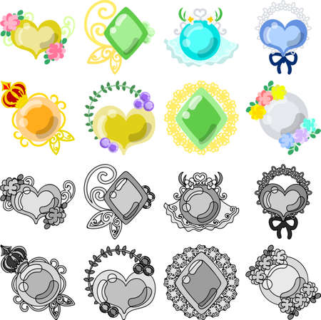 accessory: The pretty and stylish accessory icons