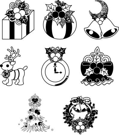 The pretty and stylish icons of Christmas