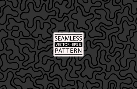 Seamless cow skin fashion pattern. Giraffe, dalmatians dog, zebra, animal fur skin texture pattern.Cow textile print. Camouflage background wallpaper. Seamless black and white vector background