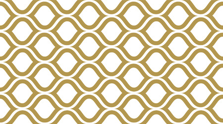 Vintage vector pattern. Classic retro fashion stripes texture. Creative luxry graphic art decor. Seamless vector pattern. Banco de Imagens - 124987821